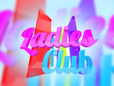 Ladies Club (Women Show Intro) talented ladies club ladies show juta ladies shoes ladies show natok ladies show ladies ladies club motion graphics ident channel tv video opener filler title animation 3dsmax 3d after effect cinema 4d