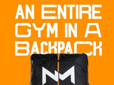NUMI Backpack numi gym fitness workout animation design type branding