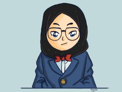 Detektif Conan illustration fanart conan