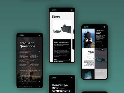 Box Synergy Web webdesign web design ux ui