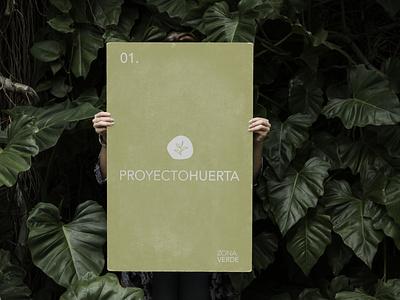 Proyecto Huerta identity brand design merchandise design brand identity system identidade visual identity branding logo branding design