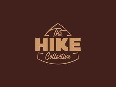 The Hike Collective camping glamping trekking hiking hike tourism eco ecotourism logotype branding logo