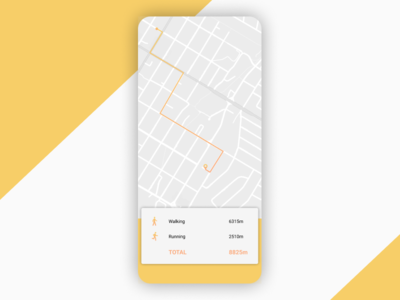Daily UI | Challenge #20 | Location Tracker