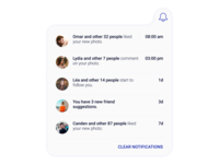 Daily UI | Challenge #47 | Activity Feed