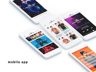 Mobile app for fashion ecommerce