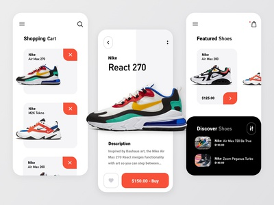 Sneakers Store App - Summary