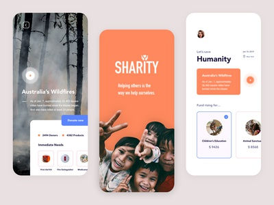 Charity App - Summary