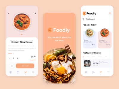 Food Service App - Summary