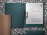 A2 ATELIE ARQUITETURA logo graphic designer graphic design branding design branding and identity design stationery branding brand identity brand