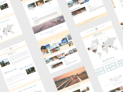 Packing Joy Travel Blog Web Design by Dragonfly Ave