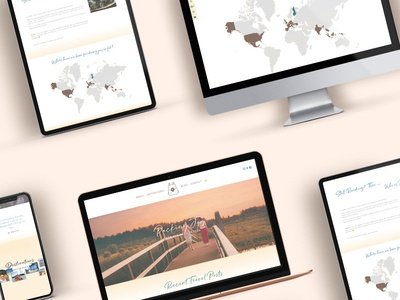 Packing Joy | Travel Blog Responsive Web Design by Dragonfly Ave