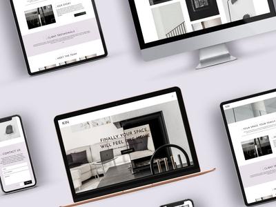 KIN Interiors Responsive Website Design