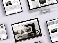 KIN Interiors Responsive Website Design