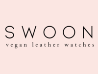 Swoon Vegan Watches Word Mark Logo By Dragonfly Ave