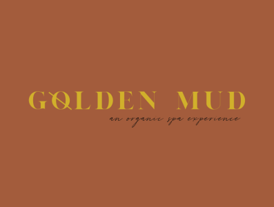 Golden Mud Brand + Modern Typography Design
