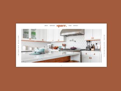 Space | Website Design