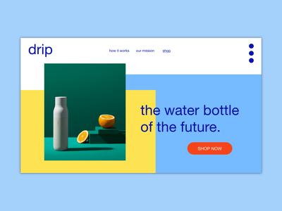 drip | web design concept