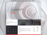 Altius | One Page Architecture Template