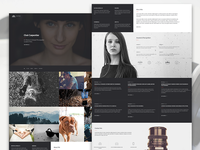 Altius | One Page Template for Photographers