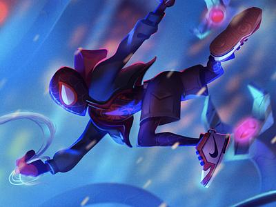 Miles! sony marvel playstation5 spidermanps5 miles morales spiderman
