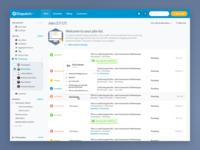 Job Management Dashboard Concept