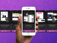 Fans.com iOS App Walkthrough and Onboarding