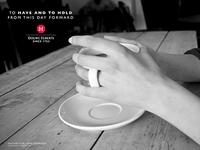 Douwe Egberts advertising campaign