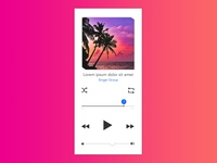 Daily UI#09 [ MusicPlayer ]