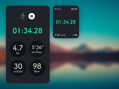 Daily UI#41 [ Workout Tracker ]