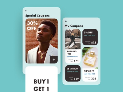 Daily UI#61 [ Redeem Coupon ]