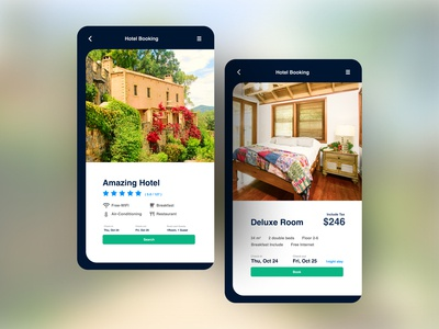 Daily UI#67 [ Hotel Booking ]