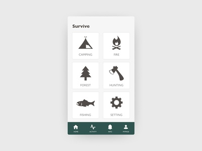 Daily UI#99 [ Categories ]