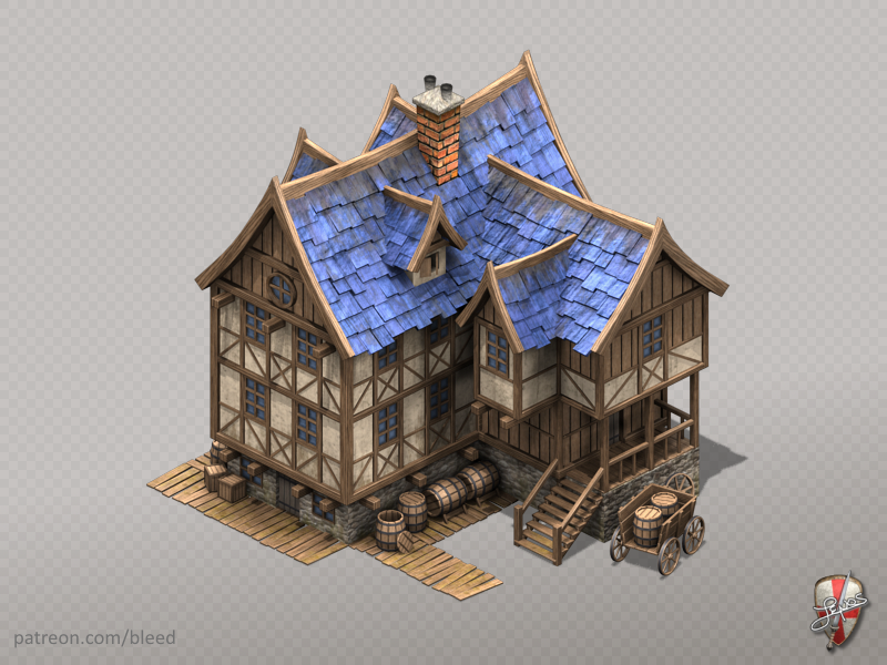 Medieval Tavern by Remos Turcuman on Dribbble
