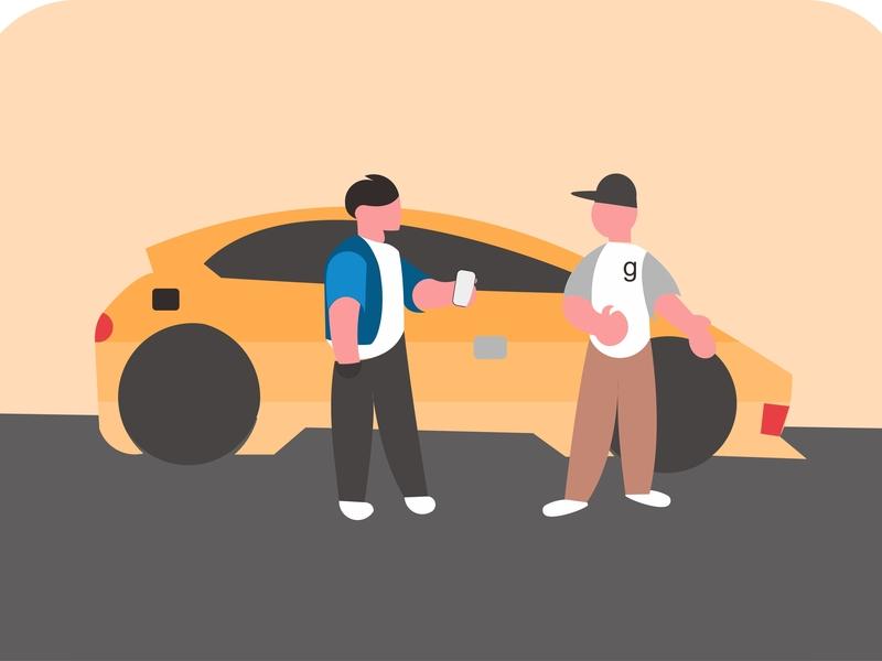 flat design parking area vector illustrator design vektor illustration coreldrawx7 coreldraw adobe illustrator adobe