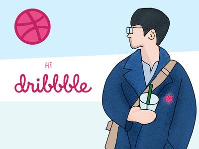 Hi,dribbble