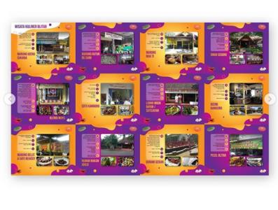 disparbudpora leaflet design tourism guide design graphic design tourism guide leaflet design leaflet
