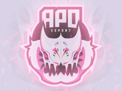 Apo Mascot/Esport Logo gaming logo youtube logo twitch logo design branding e sport esport logo esport monster apocalypse logo design mascot character mascot logo mascot vector logo