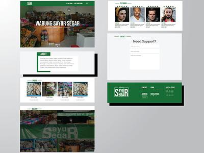Redesign UI UX | Warung Sayur Segar Website ux design ui design design web website website design web design ux ui ui ux design ui ux uiux redesign