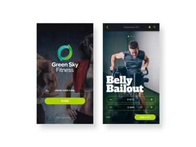 Custom gym trainer app