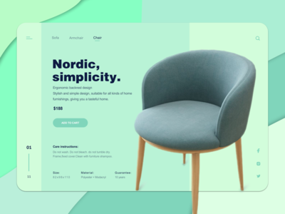 Nordic chair