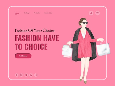 eCommerce Banner Concept creative weekly warm-up dribbble appdesign webdesign branding graphic design
