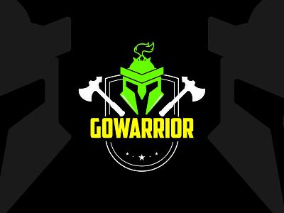 Weekly Warmup - Retro GoWarrior Game branding vector illustration dribbble creative weekly warm-up
