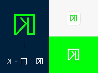 K - krishna borad Logo Design creative branding graphic design logodesign logo