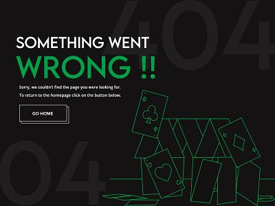 404 error page - Weekly Warm-up webdesign design illustration creative weekly warm-up dribbble