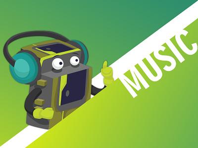 MUSIC - Weekly Warm-Up vector ui branding design creative affinityphoto illustration weekly warm-up dribbble