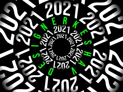 Keshav raj 2021 illustration dribbble design new year illustrator trend 2021