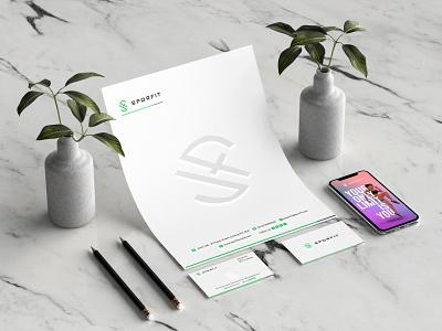 SPORFIT web typography illustration logo photoshop adobe dribbble design branding