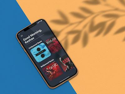 Music player app design dribbble invite mockup download free ux ui design app music dribbbleinvite dribbbler dribbble