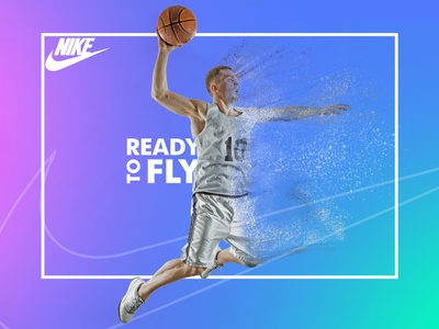 NIKE inspiration Sports Banner