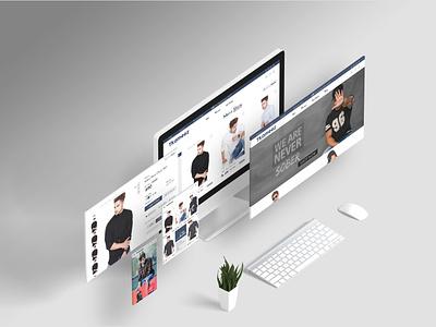 TKAMEEZ WEBSITE fashion photography graphic design dribbble best shot banner adobe branding illustraion web photoshop dribbble ux ui website desktop designer design